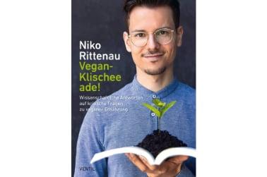 Buch Niko Rittenau Vegan Klischee ade