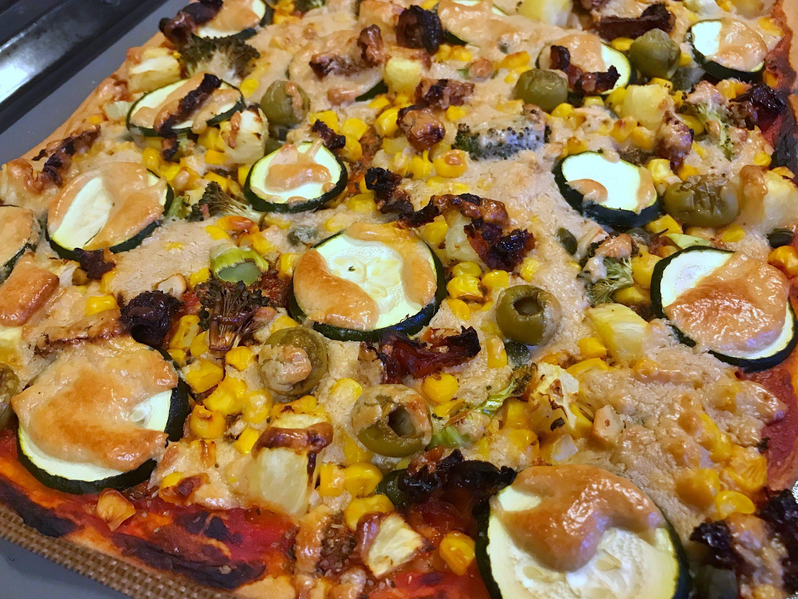Veganer Pizza-Käse-Schmelz